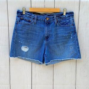 J.crew Broken In Boyfriend denim shorts